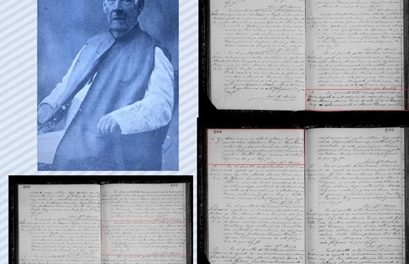 De los bautizos realizados por José María Meriño, cura de la Iglesia de Las Damas (Duvergé)